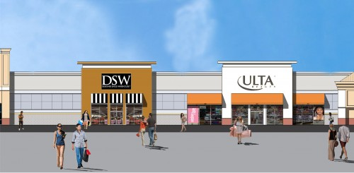Rendering Ulta & DSW-website